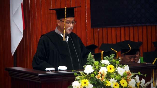 Ciptakan Sensor QCM Serbaguna, Prof Dr Ing Setyawan Purnomo Sakti M.Eng Jadi Guru Besar