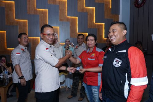 Kapolres Ajak Komunitas Motor Wujudkan Situbondo Tertib Berlalu Lintas dan Pemilu Damai