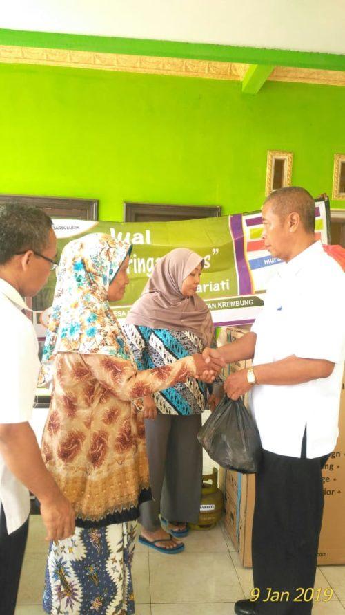 KRTP Kedungrawan Krembung Dapat Bantuan Hibah Rp 2,5 Juta