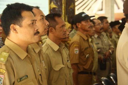 KADES : Para Kades se-Wilayah Kabupaten Malang. (H.Mansyur Usman/Memontum.Com)