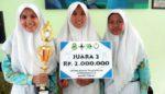 Tiga Siswi SMAN 1 Lamongan Sulap Limbah Jadi Biofoam