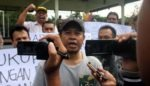 Forum Jurnalis Bondowoso Bersatu,  Gelar Aksi Tolak Remisi Susrama