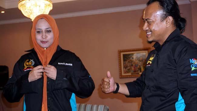 "Berseragam FWLM, Bupati Faida Takkan ""Beli"" Idealisme serta Kredibilitas Pekerja Media"