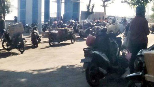 SAMA-SAMA MOLOR : Aktifitas Pelabuhan Jangkar Situbondo terganggu karena pembangunan proyek molor dari jadwal. (dok)