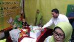 Fandi Utomo Apresiasi Pasar Rakyat Muslimat Sidoarjo