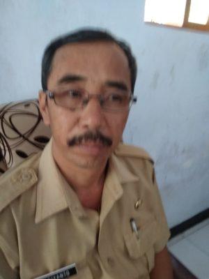 Sugiyanto Kades Segaran. (H Mansyur Usman/Memontum.Com)