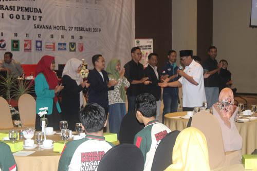 Wawali Bung Edi mengajak mahasiswa terlibat aktif dalam demokrasi dan Pemilu 2019. (rhd)