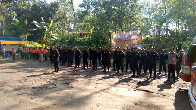Pelatihan Relawan Senkom, Kedepankan Vertikal Rescue dan Water Rescue