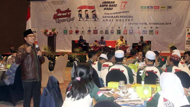 Pemkot Malang-KPU Sosialisasi Pemilu 2019 ke Pemilih Pemula