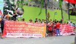 Pendukung Jokowi 'Sambut' Kedatangan Prabowo, Kedua Kubu Sempat Adu Mulut