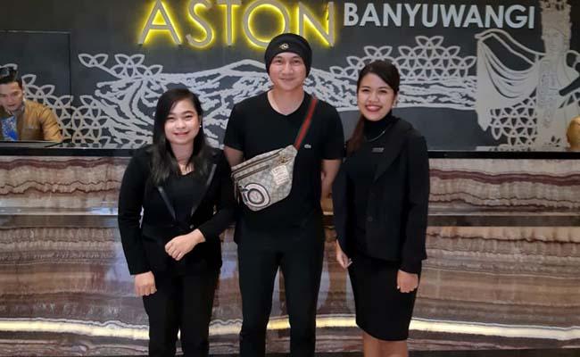 Anji Pukau Pengunjung Aston Banyuwangi Hotel