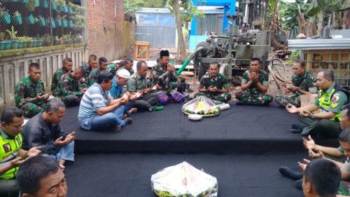 Tasyakuran Pembuatan Sumur Bor di Rumah Orang Tua Panglima TNI