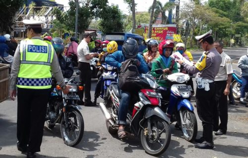 Ops SPPT Tahun 2019 Satlantas Polres Malang Tilang 5018 Pelanggar