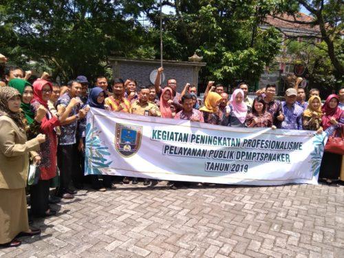 DPMTSP-Naker Rembang Kunjungi Disnaker Kabupaten Malang