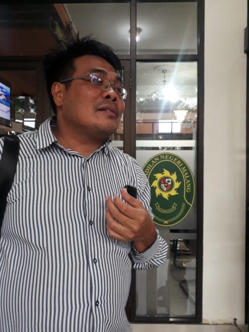 ASN Kota Malang Jadi Terdakwa, Sumardhan: Belum Ada Saksi Yang Bisa Buktikan Klien Saya Terlibat