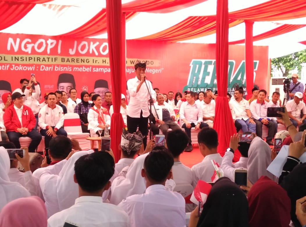 Jokowi Pompa Semangat Pengusaha Muda