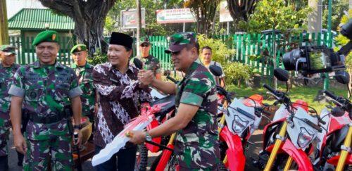 Danrem 083/BDJ Dampingi  Kunker Pangdam V/BRW Di Kodim 0819 /Pasuruan