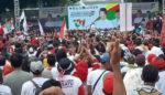 Bupati Anas Laporkan Hasil Pembangunan ke Presiden Jokowi