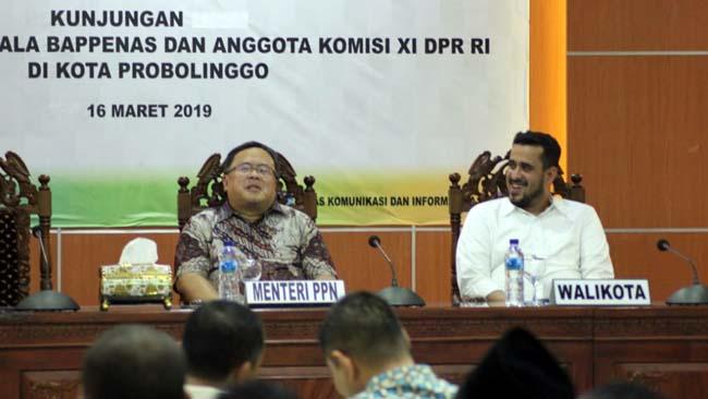 Menteri PPN Kepala Bappenas Kunker di Kota Probolinggo