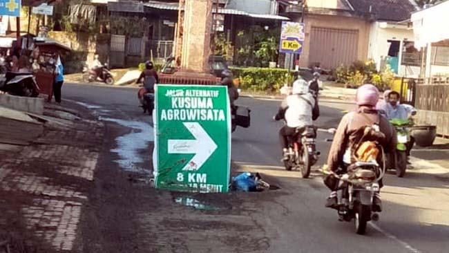 Ranjau Jalan Raya di Masa Tiada Perang
