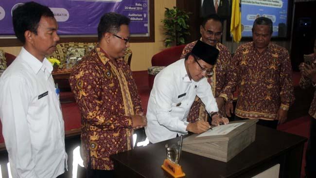 Walikota Resmikan Pusat Bisnis dan Kewirausahaan Unikama