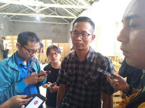 Ketua KPU Kota Malang Zaenudin ST, MAP. (rhd)