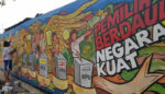 KPU Jatim Gelar Lomba Mural, Seniman Ajak Masyarakat Tak Golput