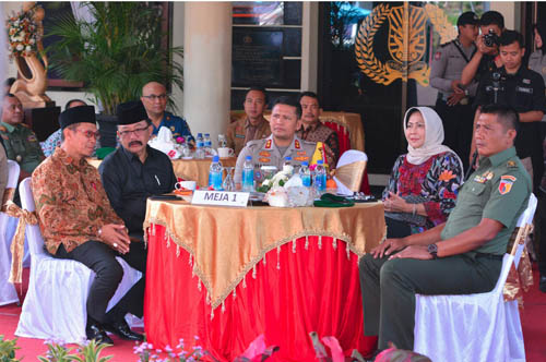 Polres Batu Gelar Forum Silaturahmi Kamtibmas Pemilu 2019