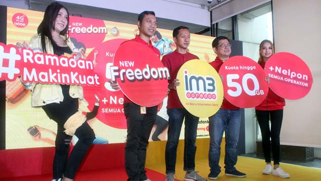 IM3 Ooredoo Luncurkan New Freedom, Akses Internet plus Gratis Telpon All Operator