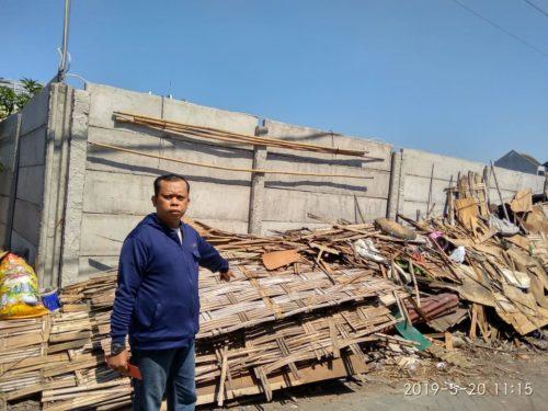 Warga  Magersari  Keluhkan  Pembangunan Suncity  Apartemen, Rumah Retak, Lingkungan Tercemar