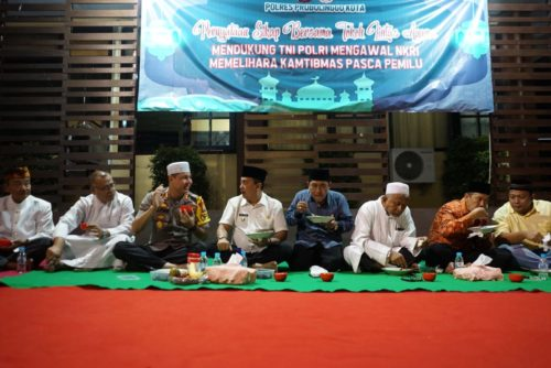 Masyarakat Probolinggo dan Tokoh Agama, Kecam Kerusuhan 22 Mei