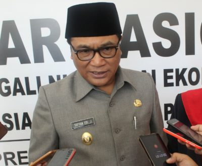 Wakil Walikota Malang, Sofyan Edi Jarwoko. (rhd)