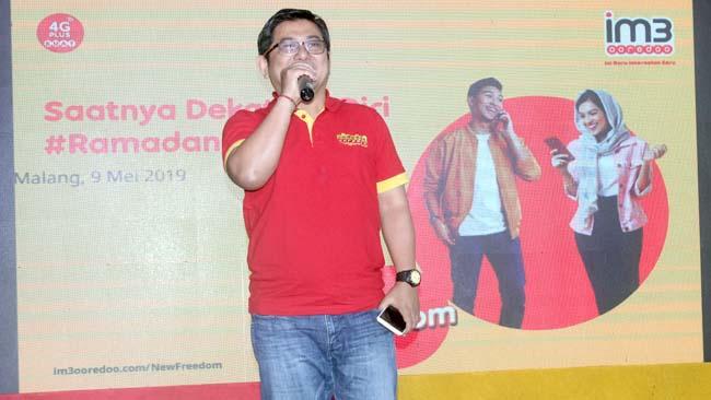 Wulang Prabowo Edhi, menjelaskan New Freedom kepada awak media. (rhd)
