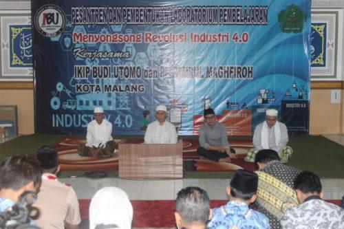 Ramah tamah Prof. Dr. Ir. Mohammad Bisri MS, dan Dr. H. Nurcholis Sunuyeko, M.Si. (rhd)