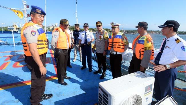 Kapolres Situbondo Cek Kesiapan Mudik di Pelabuhan Jangkar