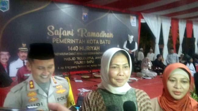 Safari Ramadhan Pemkot Batu di Mapolres Bersama Forkompimda
