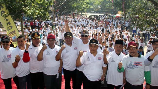 Deklarasi Tolak Kerusuhan Forkopimda & Masyarakat Kabupaten Malang