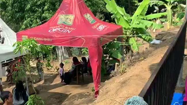 Lokasi Kafe Hamur Sawah Desa Talok Kecamatan Turen. (sur)
