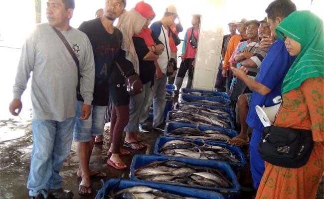HASIL : Pendapatan nelayan Sendang Biru dalam kondisi terang bulan Purnama. (H.Mansyur Usman/Memontum.Com)