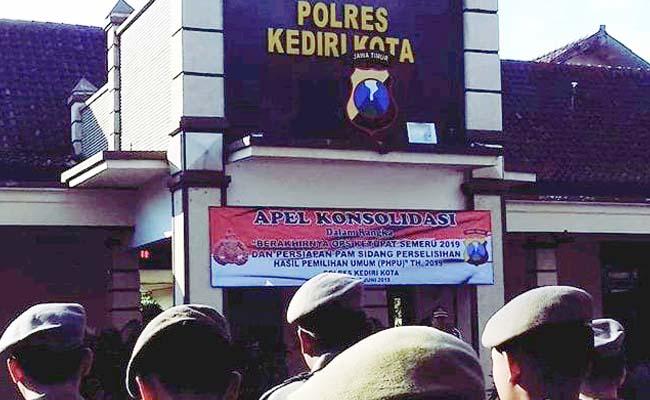 Tutup Ketupat Semeru, Polresta Kediri Apel Konsolidasi