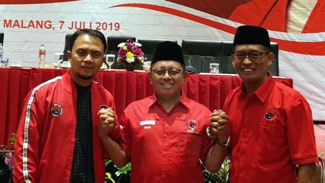 3 Mantan Ketua KPU Malang Raya Gabung ke PDI Perjuangan