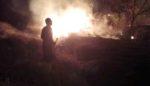 Kuburan di Sampang Terbakar
