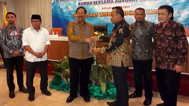 Pembukaan PKPA ke 3 DPC Peradi RBA Malang. (gie)