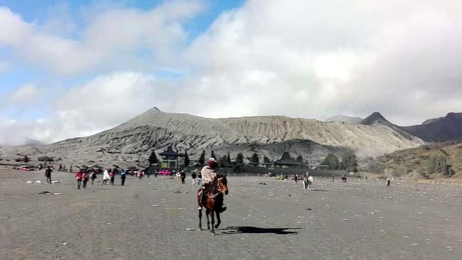 Kondisi Gunung Bromo saat ini. (ist)