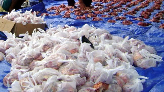 DLH Himbau Daging Kurban Tidak Dibungkus Dengan Kantong Plastik