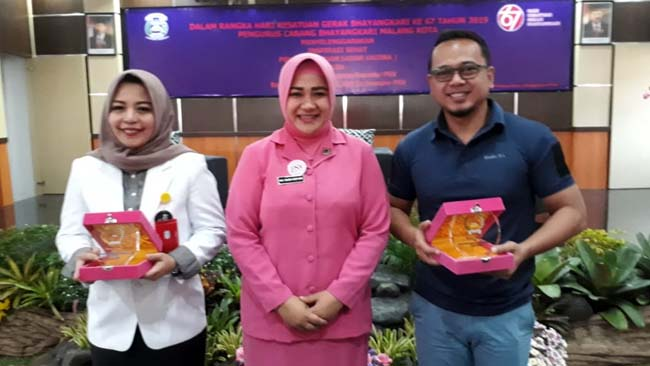 Inspirasi sehat HKGB Bhayangkari Cabang Malang Kota dalam inspirasi sehat PSV. (gie)