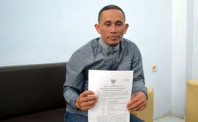 Ketua KPU Trenggalek, Gembong Derita Hadi