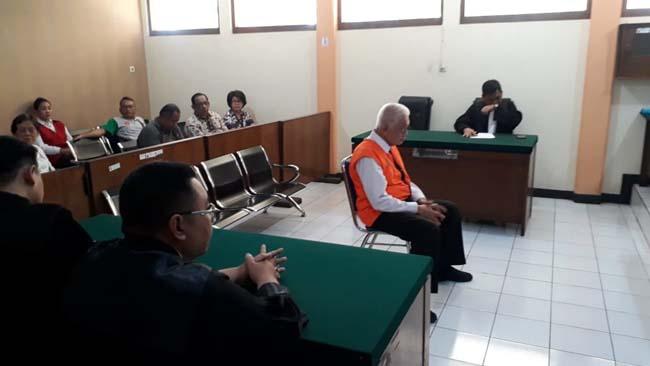 Mantan Direktur Mitra Sejahtera Abadi Gelapkan Rp 900 Juta Divonis 2 Tahun Penjara
