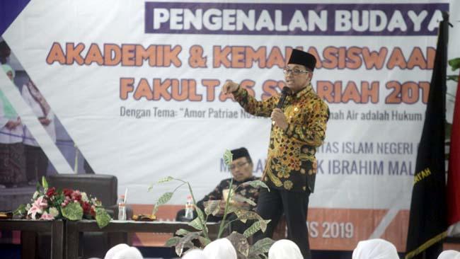 Minimalisir Potensi Konflik Walikota Malang Serukan Cinta Tanah Air