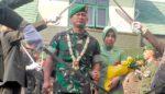 Pedang  Pora Warnai Lepas Sambut Dandim 0822 Bondowoso, dari Letkol Tarmuji kepada Letkol Jadi